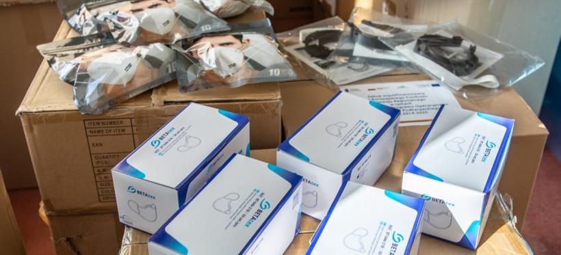 KORONAWIRUS. Kolejne wsparcie dla podkarpackich szpitali (ZDJĘCIA)