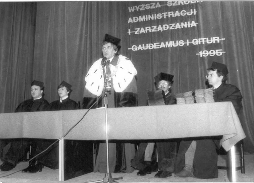 1995 I Uroczysta Inauguracja Roku Akademickiego WSAiZ