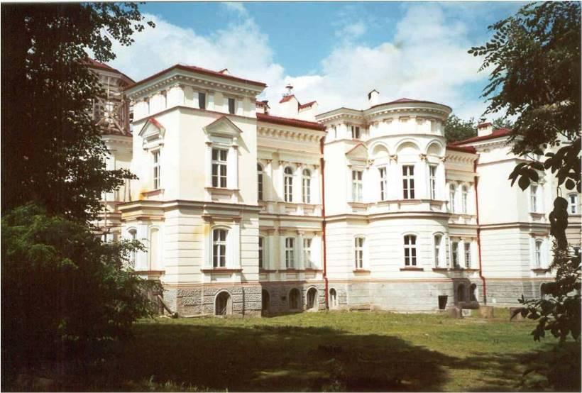 1996 Pierwsza siedziba WSAiZ Pałac Lubomirskich na Bakończycach w Przemyślu 2