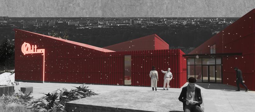 2. Projekt nowoczesnego ośrodka kultury dla seniorów Rzeszowie (Karolina Kowal)