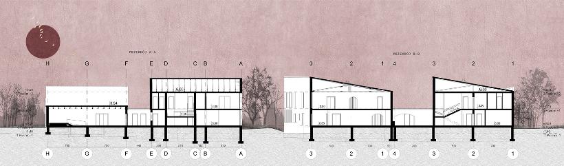 3. Projekt nowoczesnego ośrodka kultury dla seniorów Rzeszowie (Karolina Kowal)