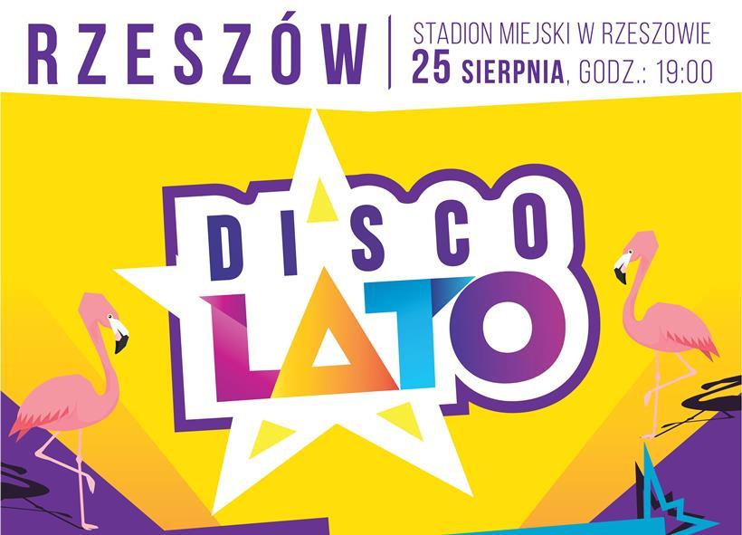 Disco Lato Rzeszów Plakat