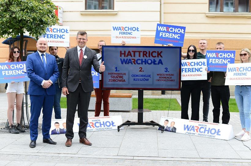Hattrick Warchoła 1