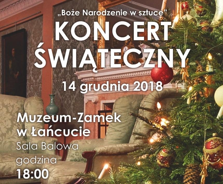 Koncert kolęd w MZŁ_plakat