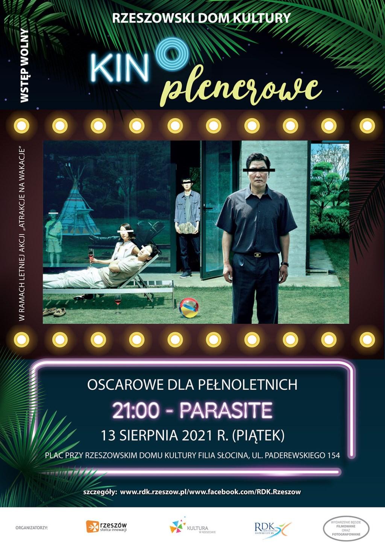 Plakat - Wakacyjne Kino Plenerowe