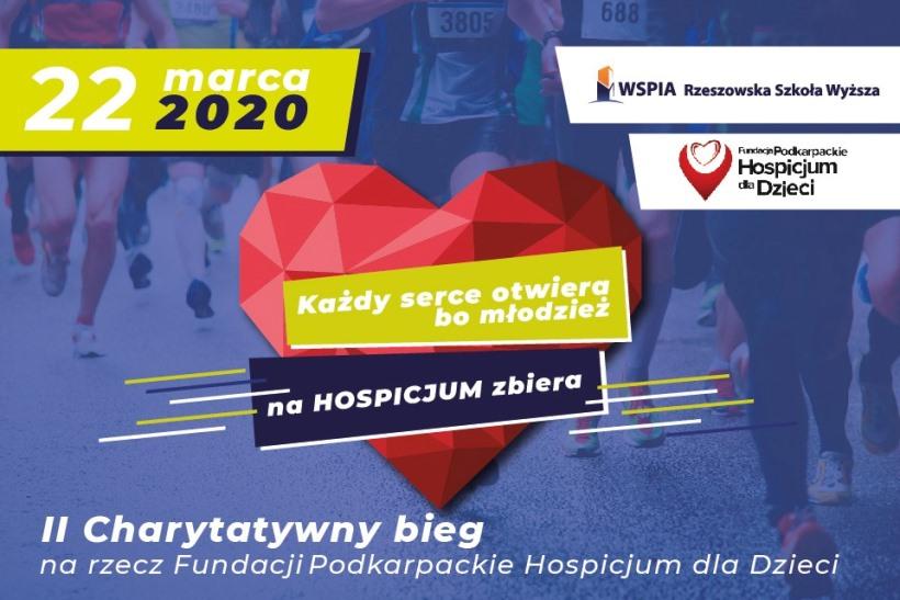 WSPiA - bieg dla Hospicjum