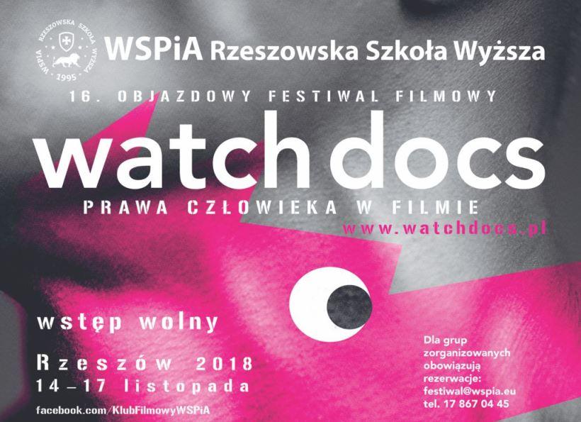 WatchDocs 2018 plakat