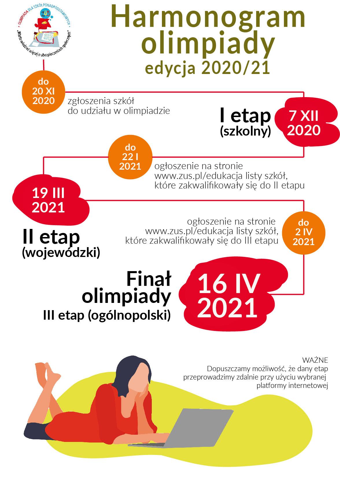 harmonogram olimpiady 2020_21